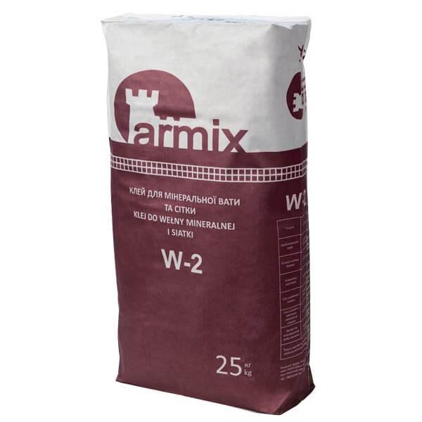Клей для мінеральної вати та сітки Армікс W-2