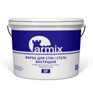 Фарба для стін і стель біла внутрішня Armix SF